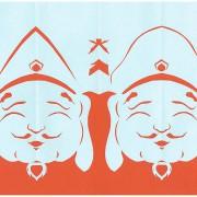 青空麒麟児師匠による紙切り作品